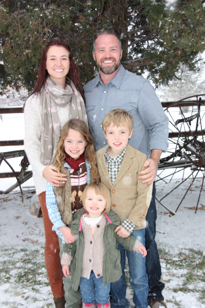 Dr. Jared Anderton and family