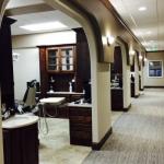 Individual patient rooms.